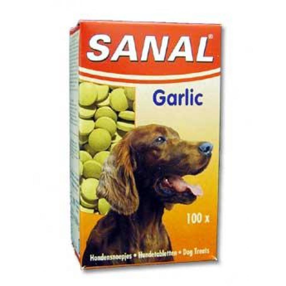 Sanal Garlic cesnakový dosp. Pes 100 tbl auv 05320