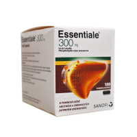 SANOFI Essentiale 300 mg 100 tvrdých kapsúl