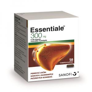 ESSENTIALE 300 mg 50 tvrdých kapsúl