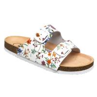 SANTÉ Flora dámske šľapky biele 1 pár, Veľkosť obuvi: 36