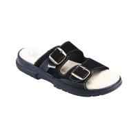 SANTÉ Pánske šľapky čierne 1 pár, Veľkosť obuvi: 44