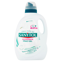 SANYTOL Dezinfekčný prací gél 17 praní 1650 ml
