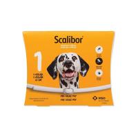 SCALIBOR Antiparazitný obojok pre veľké psy 65 cm