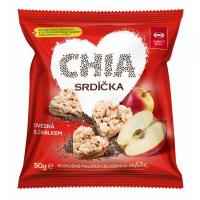 SEMIX Müsli srdiečka jablko a chia 50 g