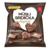 SEMIX Müsli srdiečka chrumkavé s čokoládou 50 g