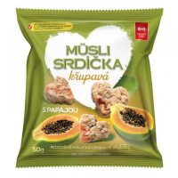 SEMIX Müsli srdiečka chrumkavé s papájou 50 g