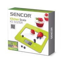 SENCOR SKS 5021GR kuchynská váha zelená