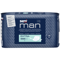 SENI Man Extra inkontinenčné vložky 15 kusov