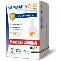 SILYMARIN DUO Da Vinci Academia 30 + 15 toboliek ZADARMO