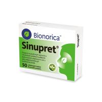 SINUPRET obalené tablety 50 ks