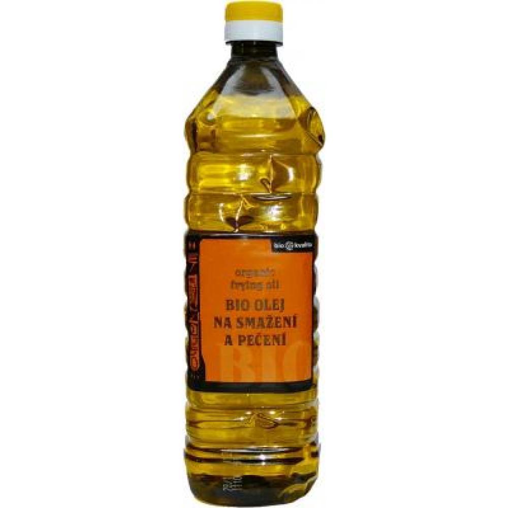 Slnečnicový olej na vyprážanie plast 1l-BIO
