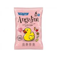 Snack kukuričný Angelina mrkvu a jablko BIO 4x15g