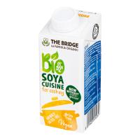 THE BRIDGE Sójová alternatíva smotany na varenie 200 ml BIO