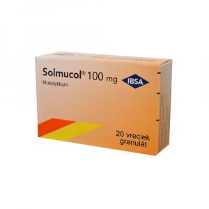 SOLMUCOL 100 mg 20 vreciek