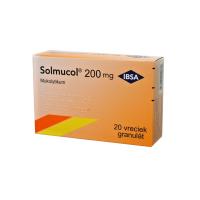 SOLMUCOL 200 mg 20 vreciek
