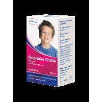 STADA  Ibuprofen perorálna suspenzia sus por (fľ.PET+ striek.) 100 ml