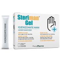 STERIMAN Dezinfekčný gél na ruky 20x2,8 ml