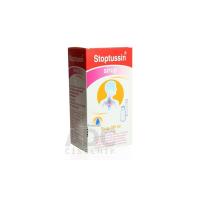 Stoptussin sirup sir (fľ.skl.+ dávkov.pipeta) 1x180 ml