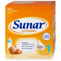 SUNAR Complex 1 Počiatočné dojčenské mlieko od 0 - 6 mesiacov 300 g