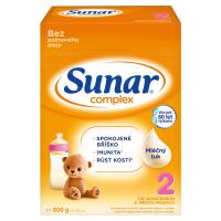 3 ks SUNAR Complex 2 Pokračovacie batoľacie mlieko od 6 mesiacov = ZL'AVA