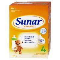 3 ks SUNAR Complex 4 Pokračovacie batoľacie mlieko od 24 mesiacov = ZL'AVA