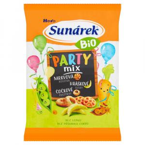 SUNÁREK Bio chrumky Párty mix 90 g