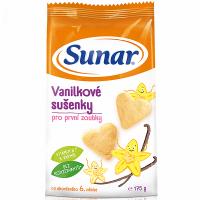 SUNARKA Detské sušienky vanilkové 175 g