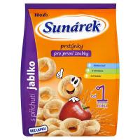 SUNARKA Detský snack jablkové prstienky 50 g