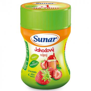 SUNAR Instantný nápoj Jahoda 200 g