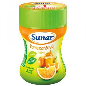 SUNÁREK Rozpustný nápoj pomaranč 200 g