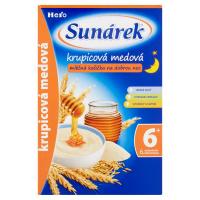 SUNÁREK Krupicová kaša na dobrú noc mliečna medová 225 g