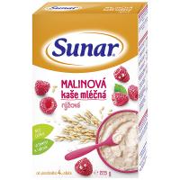 SUNAR Kašička ryžovo mliečna Malinová 225 g