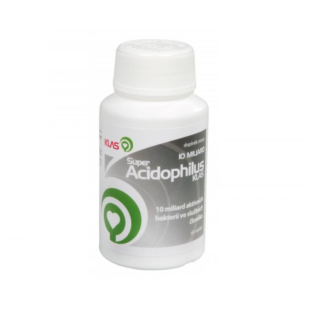Super Acidophilus 6 miliard 60 tabliet (laktobacily)