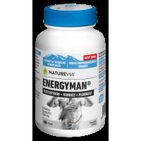 SWISS NATUREVIA Energyman 60 kapsúl