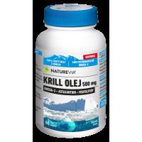 SWISS NATUREVIA Krill olej 500 mg 60 kapsúl