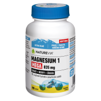 "SWISS NATUREVIA Magnesium ""1"" Mega 835 mg 90 tabliet"