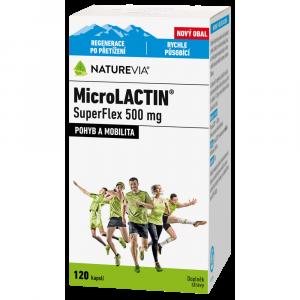 SWISS NATUREVIA MicroLACTIN SuperFlex 500 mg 120 tabliet