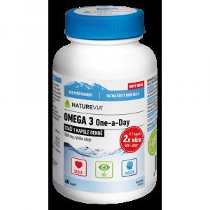 SWISS NATUREVIA Omega 3 One a Day 60 kapsúl