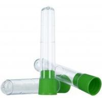 SYNTESYS Skúmavka na moč 12 ml sterilná, zelený vrchnák 1x1 ks