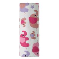 T-TOMI Bambusová osuška Ružové slony 1 ks