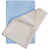 T-TOMI Bambusové žinky - rukavice, natur + modrá