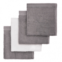 T-TOMI Kúpacie hubky Grey / Šedá 4 ks