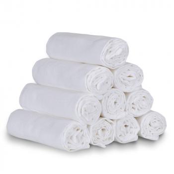 T-TOMI Tetra látkové plienky biele 70x70 cm 10 kusov