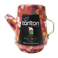 TARLTON Tea Pot Holly Berry čierny sypaný čaj 100 g