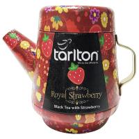 TARLTON Tea Pot Royal Strawberry čierny čaj 100 g