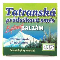 FYTOPHARMA Tatranská priedušková zmes balzam 40 g