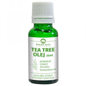 PHARMA ACTIV Tea Tree olej s kvapkadlom 20 ml