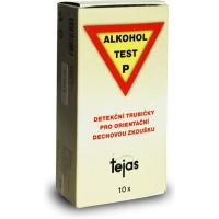 Alkoholtest P detekčné trubičky 10ks