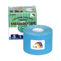 TEMTEX Tejpovacia páska kinesiotape modrá 5cm x 5m