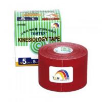 TEMTEX Tejpovacia páska Tourmaline červená 5 cm x 5 m